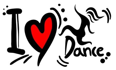 saturday night: I love dance