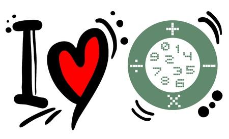 addition: Creative design of love math