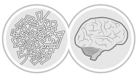 Brain intelligence icon Stock Vector - 20384066