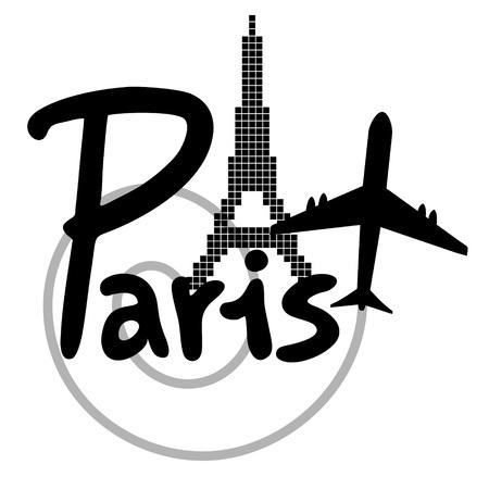 Paris travel Stock Vector - 20384228