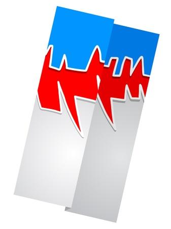 triptico: Diseño creativo de papel tríptico