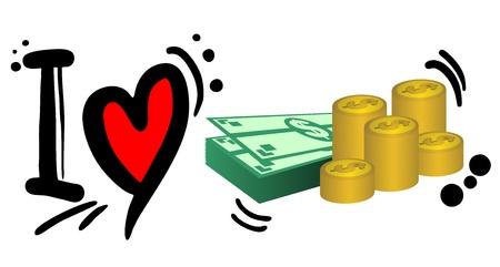 booming: I love money