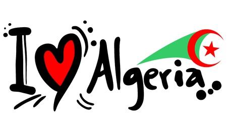 Algeria: I love Algeria