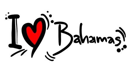 bahamas: I love Bahamas