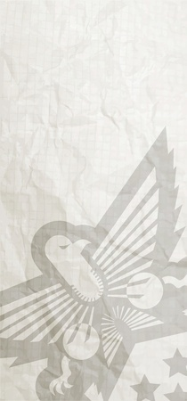 hanedan arması: Askeri bağbozumu kartı