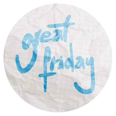Great friday Vector