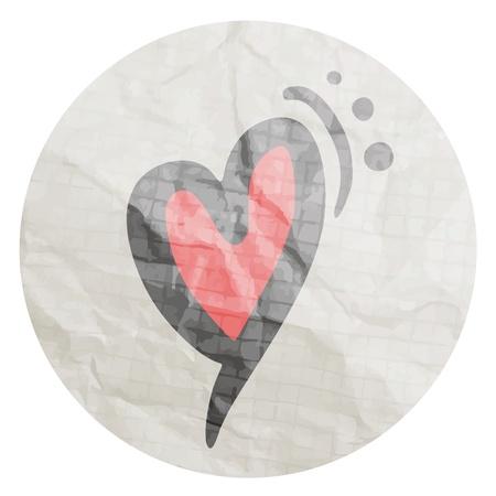 squashed: Love sticker