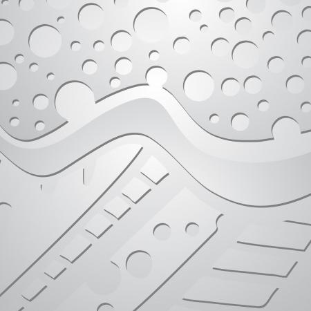 Grey metal wallpaper Vector