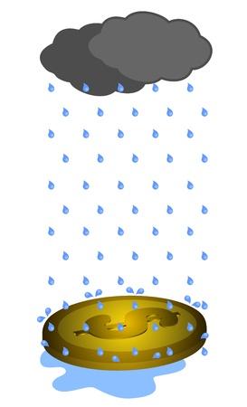 雨危機お金