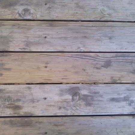 original single: Wood table