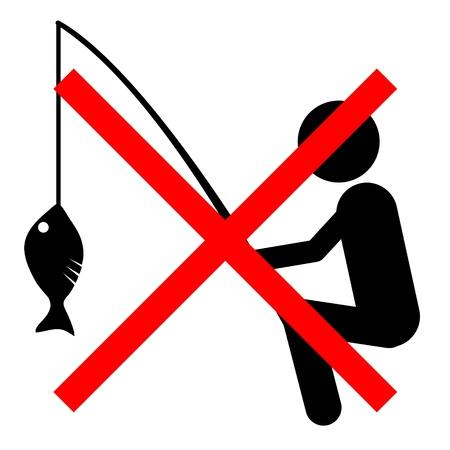 swoop: No fishing sign