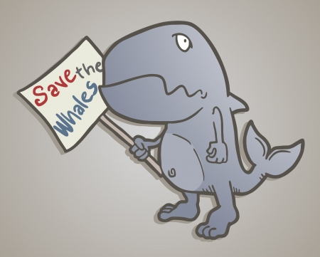 garrison: Save the whales message