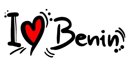 I love Benin