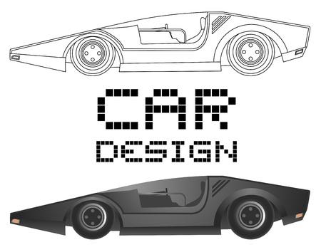 Car design vector Stock Vector - 20820026