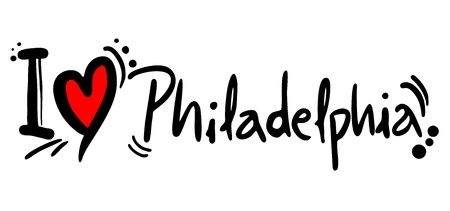 philadelphia: I love Philadelphia Illustration
