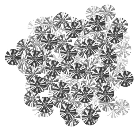 original single: Art abstract mosaic