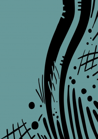 Art cover design Stock Vector - 21033020
