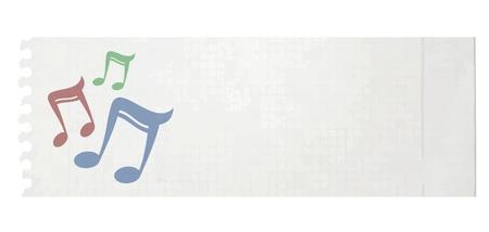 Music card Stock Vector - 20991331