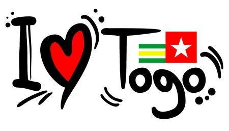 togo: Togo love