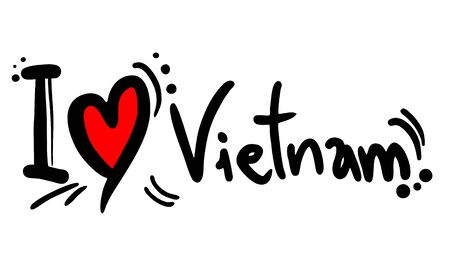 vietnam war: Vietnam love
