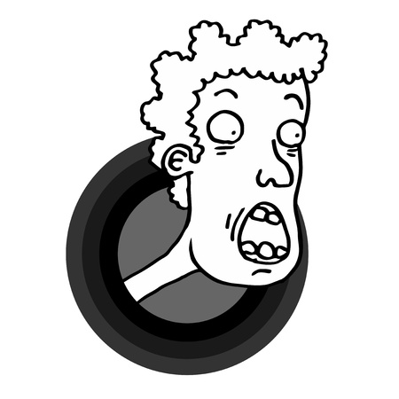 Face windows icon Stock Vector - 21148656