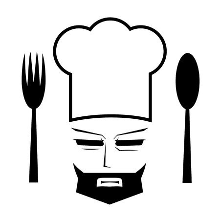 Elegant chef Vector