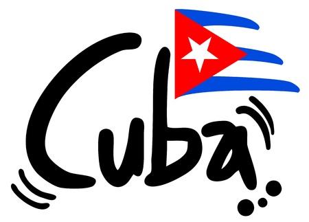 Cuba icon Stock Illustratie