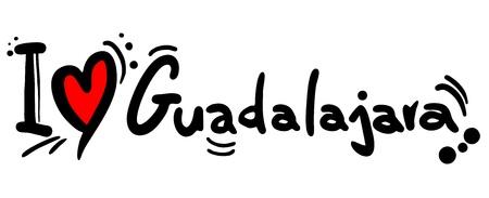 guadalajara: I love Guadalajara