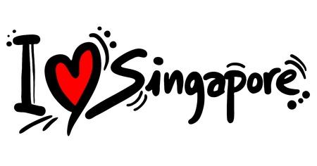 insular: I love Singapore