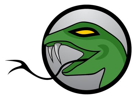 Hazard lizard Illustration
