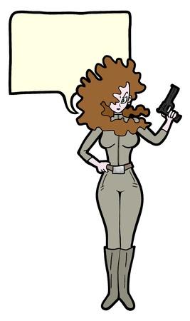 talkative: Woman comic
