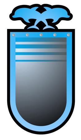 Nice emblem Stock Vector - 21433419