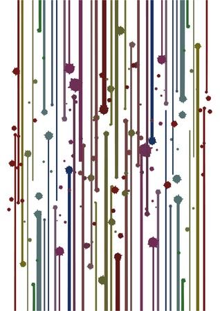 original single: Color paint decorative style