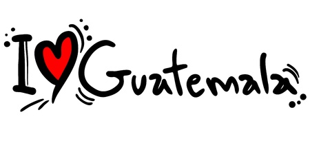distinctive: I love Guatemala