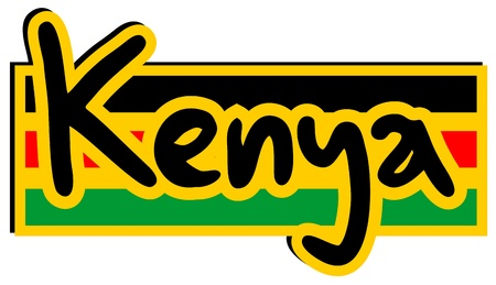 affiche: Kenya sticker