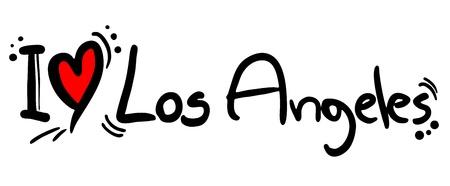 angeles: I love Los Angeles