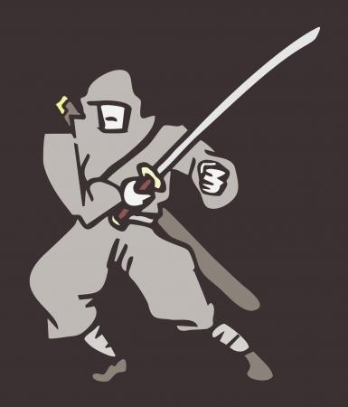 budo: Ninja character draw