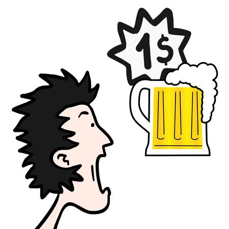 Amazing price beer