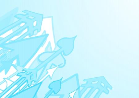 indeed: Blue art wallpaper Illustration