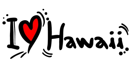 affiche: Love Hawaii