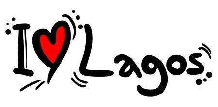 lagos: I love Lagos Illustration