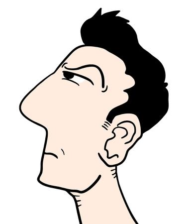 snoop: Man face