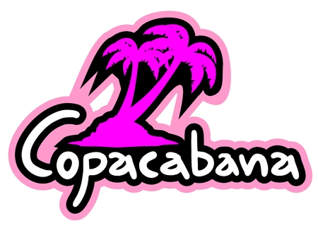 Copacabana beach Vector