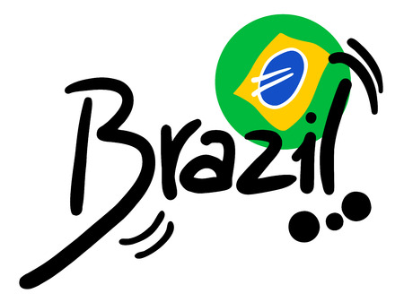 Brazil icon Stock Vector - 22583309