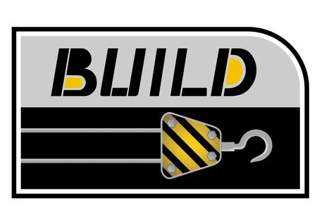 Build emblem Stock Vector - 22583317