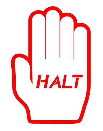 halt: Halt private symbol