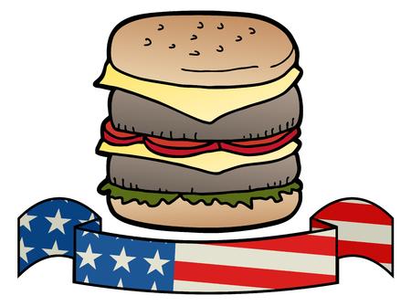 agape: American burger