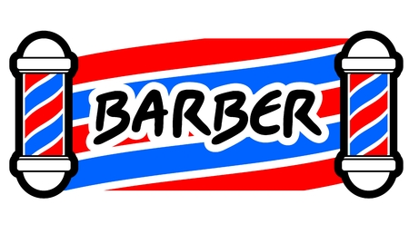 Barber card Vector