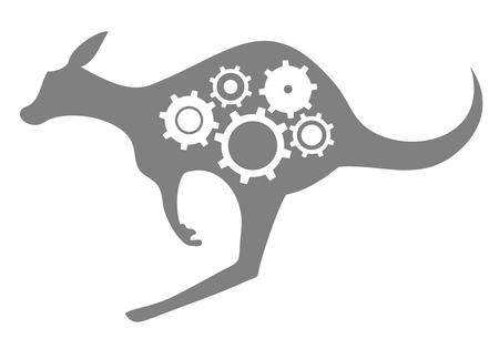 Kangaroo tech Stock Vector - 22593978