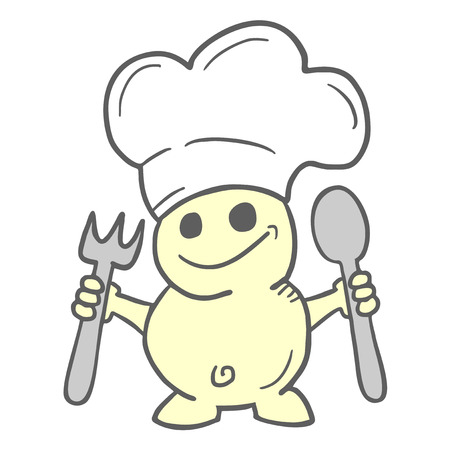 Funny chef Stock Vector - 22593984